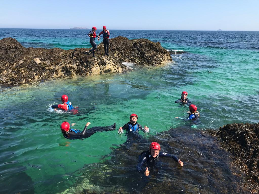 What To Expect On Our Popular Guided Coasteering Adventures