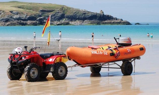 Lifegaurd boat - RNLIA-32