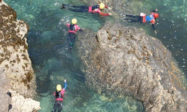 Coasteering Group Activity