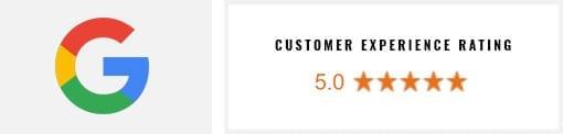 Google Customer Experience Rating