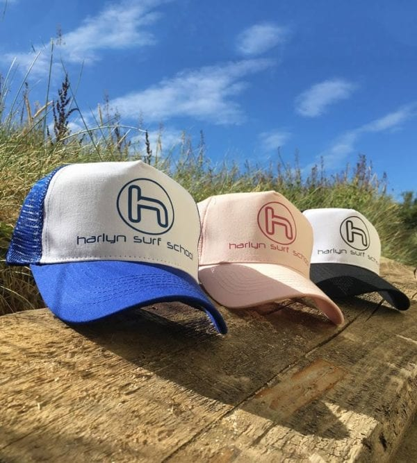 Harlyn Surf School Caps