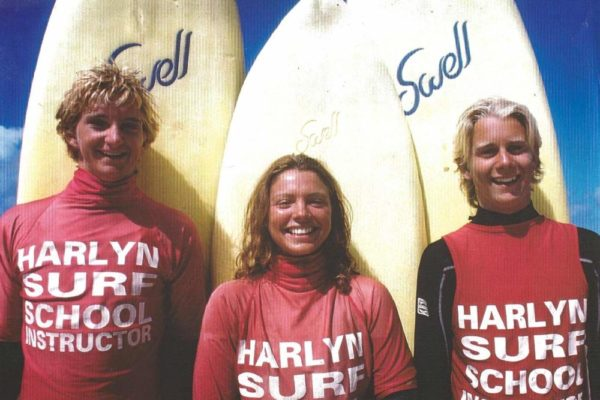 Harlyn surf school team