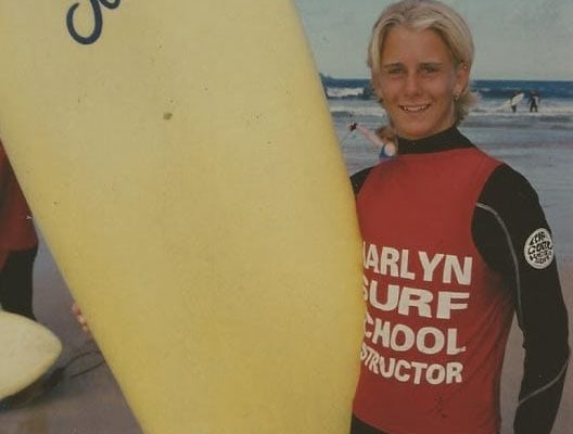 Harlyn surf school instructor