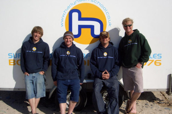 Harlyn surf team