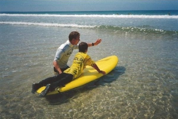 surf lessons in cornwall