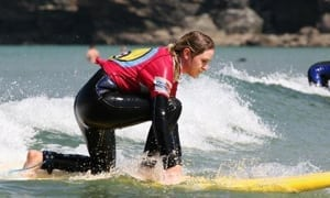 Surf practice and lessons